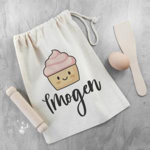 Personalised Kids Cupcake Baking Set