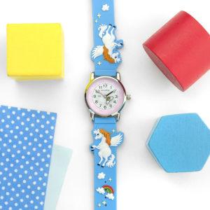 Personalised Kids Rainbow Unicorn Watch