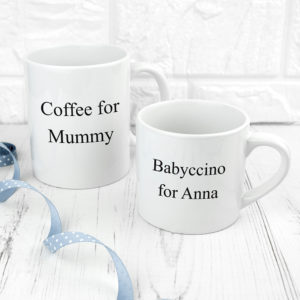 Personalised Mummy & Me Together Forever Mugs