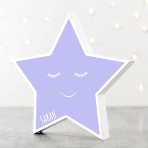 Personalised Smiling Star Keepsake