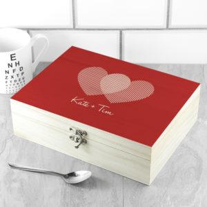 Personalised Venn Diagram Tea Box