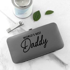 Personalised World's Best Dad Grooming Kit