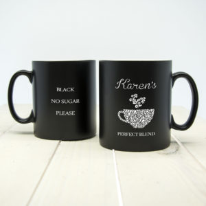 Silhouette Perfect Blend Mug