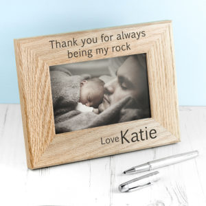 Wordsworth Collection My Rock Engraved Photo Frame